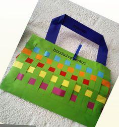 Thema winkel / supermarkt: Boodschappentas knutselen