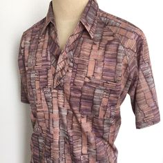 Lots of vintage men's summer shirts newly listed, just in time for Father's Day!