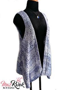 Ravelry: Pointed Hem Vest pattern by Maz Kwok