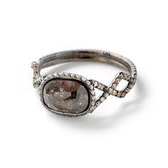 MPL 2.50 Carat Grey Diamond Ring