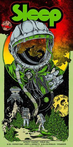 David D'Andrea Sleep Chicago / California Poster Release Details