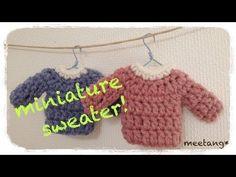 Quick Mini Mitten Garland Free Crochet Pattern - YouTube