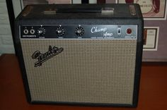 Fender Blackface Champ Tube Amp Clean and Serviced 1966 Black T | Reverb.com...Give us a call. Lawman Guitars. 515-864-6136
