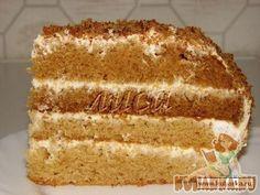 "Рецепт: Торт ""Мамин Медовик"""