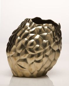 David Wiseman  Bronze vase