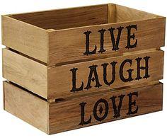 Ящик для хранения - массив дуба, 30х31х45 см