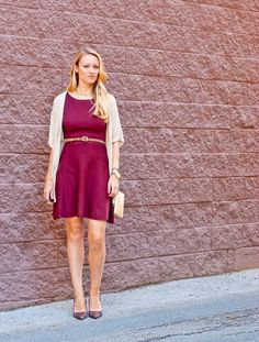 Lifestyle by Joules - How to wear burgundy this fall.