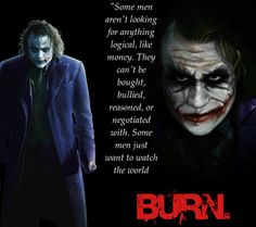 The Dark Knight Movie Quotes - Joker Motivational Lines, heath ledger dialogues from dark knight 2008 quotes on life love chaos money death success Heath Ledger Joker Quotes, Best Joker Quotes, Joker Heath, Badass Quotes, Joker Quotes Wallpaper, Joker Wallpapers, Dark Quotes, Strong Quotes, Movie Quotes