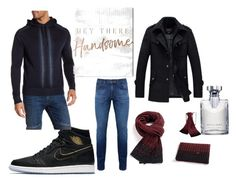 """""""Hey, handsome ;)!"""" by eladaily on Polyvore featuring Theory, NIKE, Good Man Brand, Oliver Gal Artist Co., Bulgari, outfit, look, man and eltallercreativodeeladaily"""
