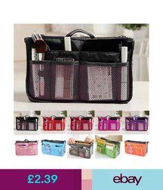 New Removable Handbag Insert Organiser Large Purse Liner Organizer Bag Quality Inserts Pinterest Car Organizers And Crafty