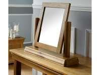 Farmhouse Country Oak Dressing Table Mirror 60