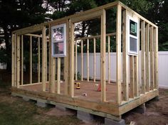 How to Build a Shed - Step by Step tutorial