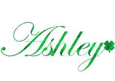 Ashley name graphics