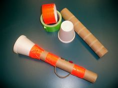 Paper Towel Roll Trumpet- Can't wait to to use this trumpets in Children's church Bible Story Crafts, Bible School Crafts, Preschool Bible, Bible Activities, Church Activities, Leadership Activities, Group Activities, Physical Education Games, Music Crafts