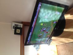 watching the footy