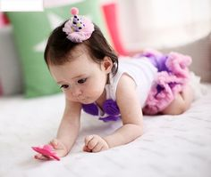 Cute Cone Hat Party Hat Hair Clip by BabyLoveUs on Etsy