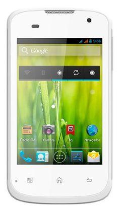 "BQ Aquaris 3.5 - Smartphone libre Android (pantalla 3.5"", cámara 2 Mp, 4 GB, Dual-Core 1.2 GHz, 1 GB RAM), blanco"