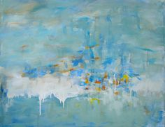 Oil Painting Large Original Modern Abstract by JennyGrayArt, $440.00