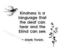 Digital Print 8x10: Kindness is a by AThoughtAndAThread on Etsy
