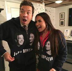 Demi Lovato / Jimmy Fallon