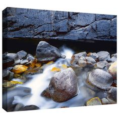 Kings River' by Dean Uhlinger Photographic Print Gallery-Wrapped on Canvas