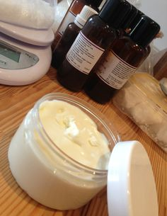 Luxurious Night Cream - shea butter base with essential oils. Best recipe I've seen, but wonder if it's good for massage,