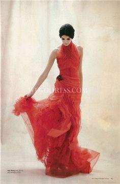 15c63cdf8a Tendance Robe De Mariée 2017  2018   red wedding dress https   flashmode