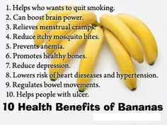 Boost up your energy by eating banana daily and check out the 10 health benefits of bananas!