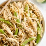 Pressure Cooker Thai Peanut Chicken & Noodles is the best Pressure Cooker recipe. It's a easy and healthy one-pot meal for your Instant Pot you will love. Thai Chicken Noodles, Curry Chicken And Rice, Rice Noodles, Healthy One Pot Meals, Healthy Dishes, Healthy Recipes, Easy Recipes, Healthy Food, Dinner Recipes
