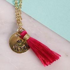 make this metal stamped xoxo gold necklace for someone you love or even