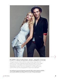 Couples: Vanessa Traina and Max Snow,  Dree Hemingway and Phil Winser,  Laure Heriard and Aaron Young,  Rachel Chandler and Tom Guinness,  Jasmine Tookes and Tobias Sorenses,  Poppy Delevingne and James Cook Photographer: Craig Mcdean  Stylist: Camilla Nickerson