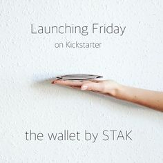 We are ready!! We can hardly believe we've made it but our first product (it's a wallet! Did you guess?) is ready to go and is going live on kickstarter THIS FRIDAY!!! First 40 backers will get mega discounts and all kickstarter backers will get 20% off rrp. Please share and help make STAK a reality. Lots more product images to come! #stak #staklifestyle #wallet #startup #kickstarter #edc #crowdfunding #minimalist #cork #minimalism #vegan #design #productdesign #launching #friday