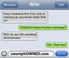 ImageFind images and videos about funny, text and harry potter on We Heart It - the app to get lost in what you love. Funny Texts Jokes, Text Jokes, Funny Text Fails, Funny Text Messages, Stupid Funny Memes, Funny Laugh, Wtf Funny, Funny Relatable Memes, Funny Posts