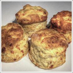 Cheddar Cheese Scones - by OnlineRecipe.club