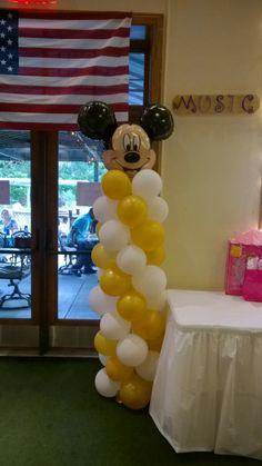 Mickey column