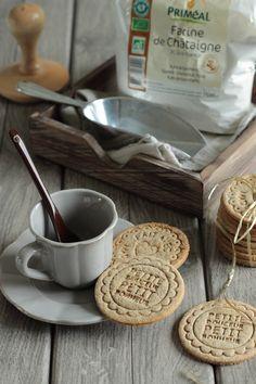 Sablés à la farine de châtaigne (ig bas, SL, SG) Méthode Healthy (tome 6)
