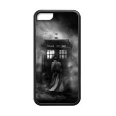 Doctor Who TARDIS Dark Mist Case for iPhone 5c