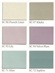 shabby chic colors - Home Decor Color Palettes