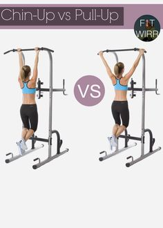 How to Do Chin up and Pull up Correctly
