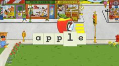 Words That Go with Richard Scarry's Busytown Cars ($2.99) Richard Scarry's delightfully wacky cars come to life in this interactive educational game for kids ages 2-6. When the Apple Car arrives at a Busytown stoplight, kids spell a-p-p-l-e to help it zoom through the intersection. With five playing modes, including letter matching, early phonics and spelling, this app grows with your child.