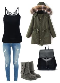 """#29"" by beth-angus on Polyvore featuring Ted Baker, UGG and Sole Society"