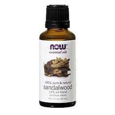 Now® Sandalwood Oil Blend - NNF - GNCSandalwood Santalum album With documented history of use over several thousand years, Sandalwood has a wide variety of applications. Promotes healthy, smooth skin Reduces the appearance of scars and blemishes Enhances mood Frequently used in meditation for its grounding and uplifting properties