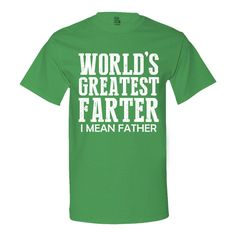 World's Greatest Farter Men's T-Shirt - Gift for Dad - Father's Day