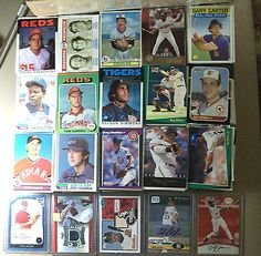 awesome 1975 - 2007 MLB BASEBALL CARD LOT~1505 ASSORTED CARDS W GAME USED OR AUTOGRAPHS - For Sale View more at http://shipperscentral.com/wp/product/1975-2007-mlb-baseball-card-lot1505-assorted-cards-w-game-used-or-autographs-for-sale/