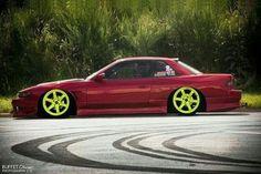 240sx S13 Coupe   Nissan Silvia   Volk Gram Lights   Cars ...