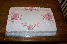 Rose Sheetcake