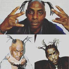 #Postpic Qui se souvient de #Coolio le rappeur américain ? Il serait peut-être temps pour lui de changer de #coiffeur vous ne trouvez-pas ?