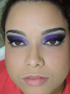 Make up para balada.