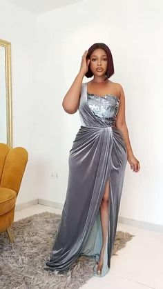 African Bridesmaid Dresses, African Inspired Fashion, Latest African Fashion Dresses, African Dresses For Women, African Attire, Lace Dress Styles, Africa Dress, Classy Dress, Positive Mindset