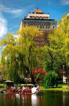 Boston Commons Public Gardens Boston Ma It Was